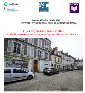 Villes moyennes, villes en déclin ? Activités commerciales et dynamiques urbaines en France